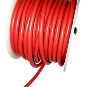 AT e4602 Silicone Wire 10awg Red OD 5.5mm 20cm-0