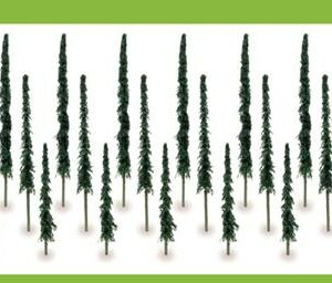Hornby Eco Conifer 100mm to 154 (24) r8928-0