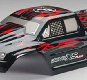 HPI BODY GT-2XS PAINTED BODY RED/BLACK/GREY 105274-0