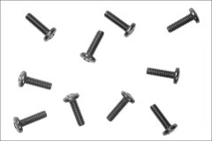 KYOSHO SCREW BINDHD 3.0x15.0mm TITANIUM 1314-0