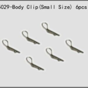 River Hobby Body Clip (Small Size) 6pcs (ftx-6551) 85029-0