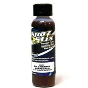 Spaz Stix COLOR CHANGING PAINT GOLD/ORANGE/PURPLE/RED 2OZ 05600-33122