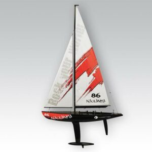 Thunder Tiger Naulantia 1M Racing Yacht Red 5549r-0