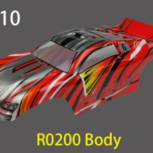 River Hobby 1/0 ST Painted Body Red (Blade) r0200-0