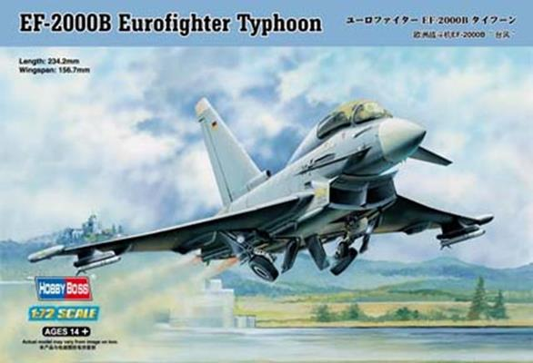 hobby boss 1 72 ef 2000b eurofighter typhoon 80265. Black Bedroom Furniture Sets. Home Design Ideas